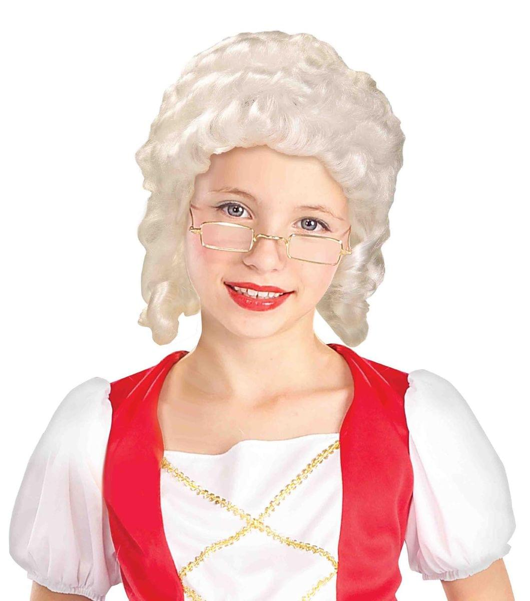 White Wig Costume Halloween Wigs