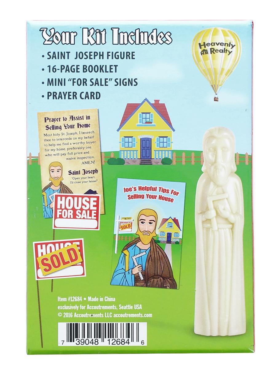 saint joseph sell your house kit ebay. Black Bedroom Furniture Sets. Home Design Ideas