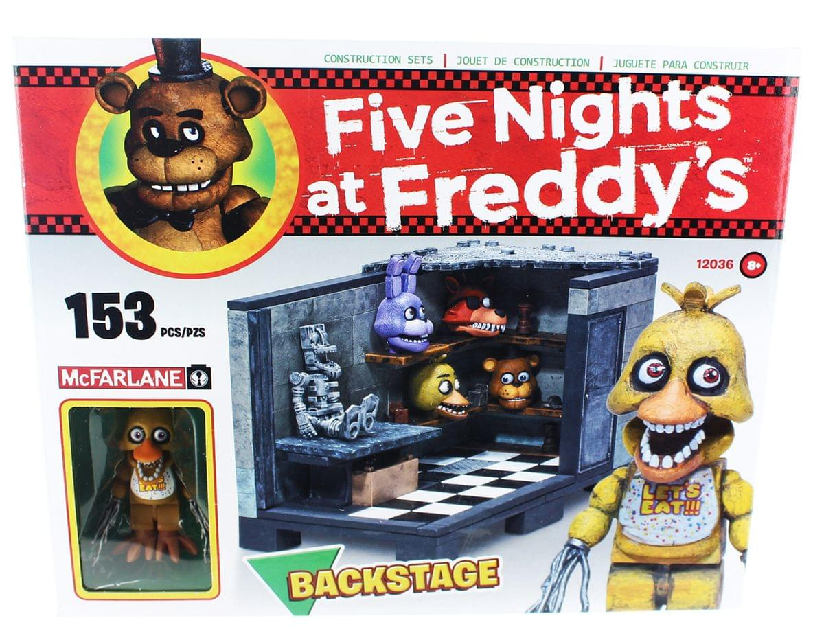 Five nights at freddy s backstage construction set ebay