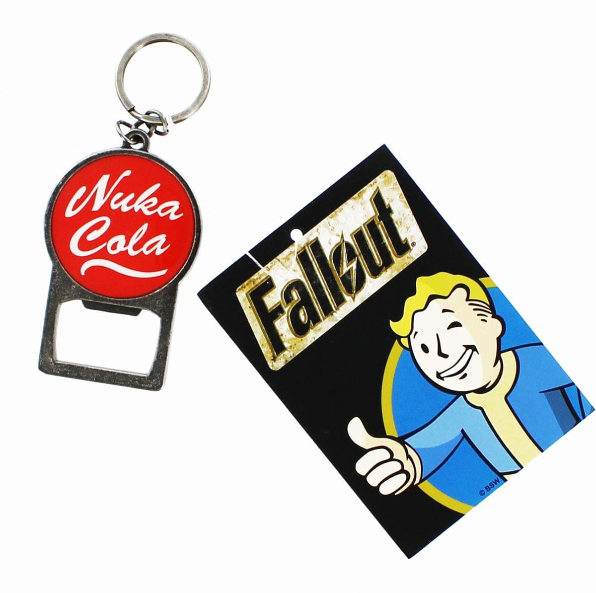fallout nuka cola metal keychain bottle opener ebay. Black Bedroom Furniture Sets. Home Design Ideas